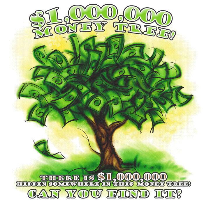 The One Million Dollar Money Tree!